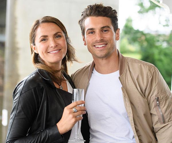 """""""When I'm with her it feels so natural and I never want our dates to end. I knew she could be right for me the day after our first date – I simply couldn't fault it."""""""