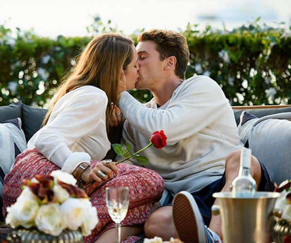And their first kiss was nothing short of magical. *(Image: Network Ten)*
