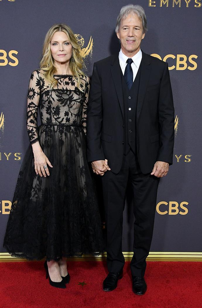 Michelle Pfeiffer and David E Kelly