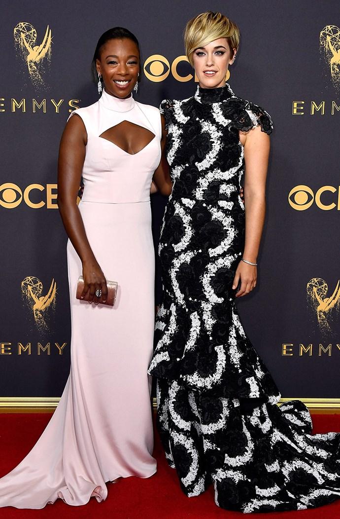 Samira Wiley and Lauren Morelli