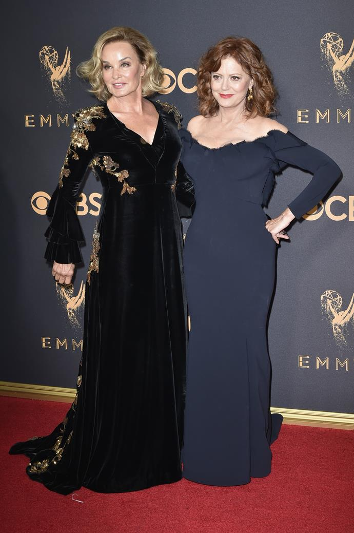 They may not be dating, but Jessica Lange and Susan Sarandon are certainly a powerhouse together!