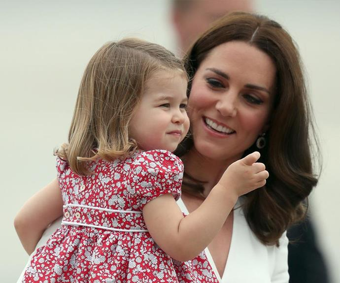 A source tipped off a UK publication that Kate was expecting a girl when she was pregnant with Charlotte.