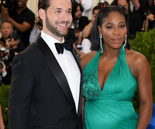 Serena and husband Alexis Ohanian