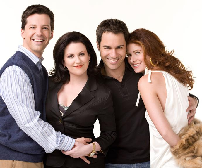 The awesome foursome of Jack, Karen, Will and Grace in the original series.