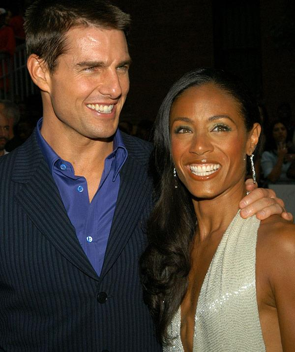 Jada and Tom have been friends for decades, since filming the 2004 hit *Collateral*.