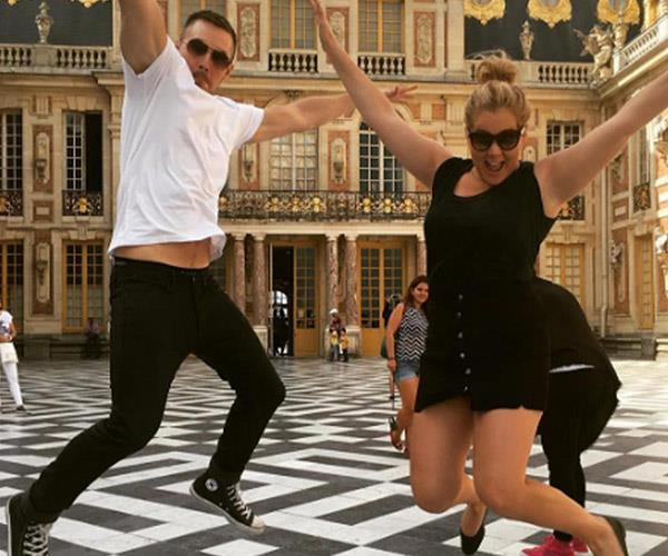 **Amy Schumer and Ben Hanisch**. A couple who's sick together, sticks together? Sadly this wasn't the case after 18 months of dating. The actress and her furniture designer beau used to light-up our feeds with their goofy Instagram pics. *Ahh*, but no more.