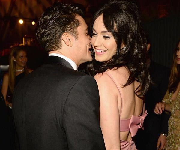 **Katy Perry and Orlando Bloom**. Katy broke it off after just 10 months... Perhaps both stars' demanding schedules are to blame for the surprise split.
