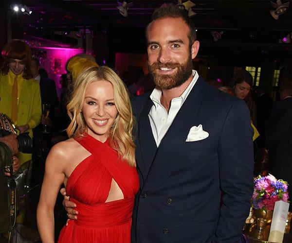 **Kylie Minogue and Joshua Sasse**. Earlier this year, Australia was heartbroken by the news that our Kylie had her actor fiancé had called off their engagement.