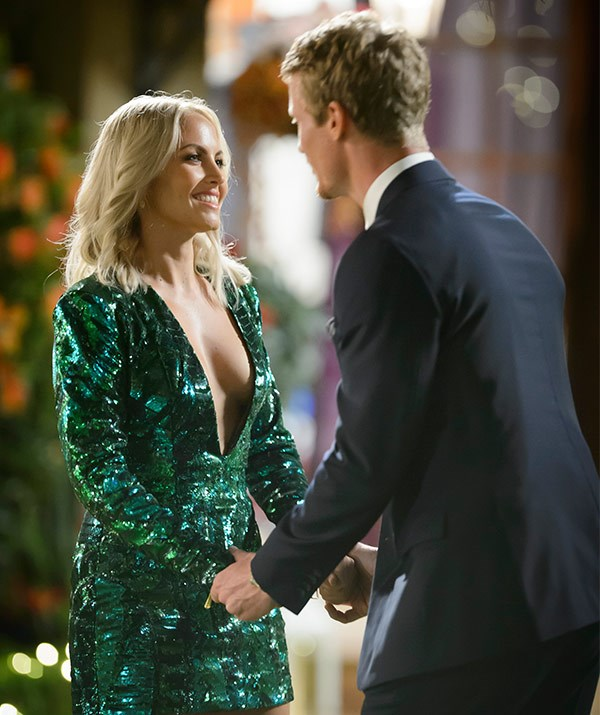 Nikki fell in love on the 2016 *Bachelor* but he picked Alex Nation.