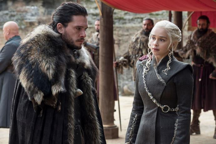 It's going to be a long wait till we see Dany and Jon again.