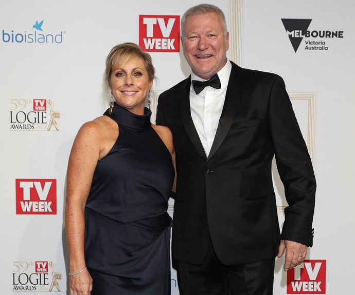Scott with his wife of 25 years Ann at this year's TV WEEK Logie Awards.