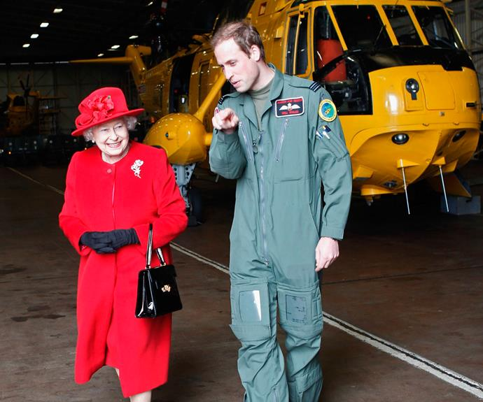 The Queen has been showing Wills the ropes since he was a kid.