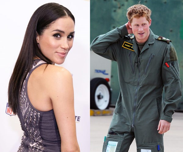 Meghan and Prince Harry started dating last year.
