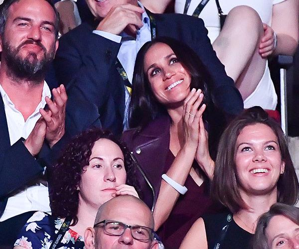 """""""Personally, I love a great love story,"""" Meghan says of her boyfriend."""