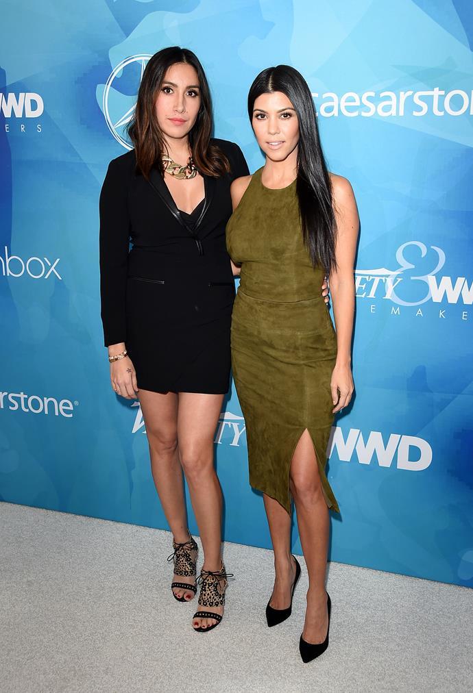 Kourtney Kardashian has been a long-time client of Jen's.