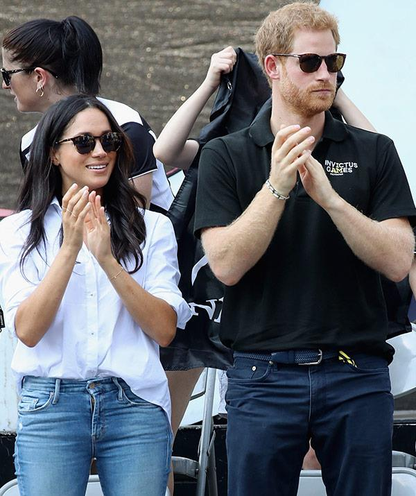 Harry, 33, and Meghan, 36, famously took their love public at the Invictus Games.