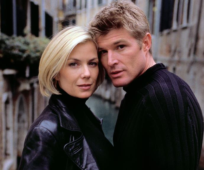 Winsor Harmon, with co-star Katherine Kelly Lang, has played Thorne Forrester for over 20 years.