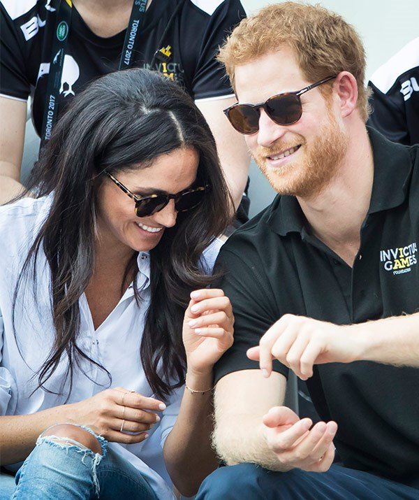 FINALLY! The couple went public at the Invictus Games.