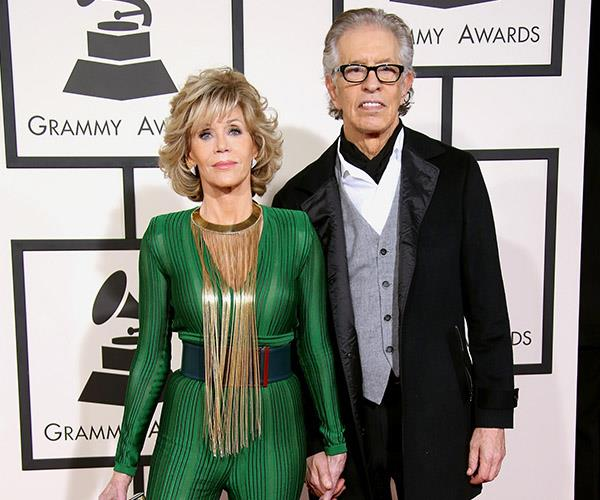 "**Jane Fonda and Richard Perry**. ""I hate to say the romantic relationship is over. We're definitely extremely good friends,"" said the American record producer of the pair's eight-year union, which sadly ended at the beginning of the year."
