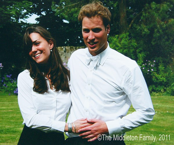 Wills and Kate fell in love at university.