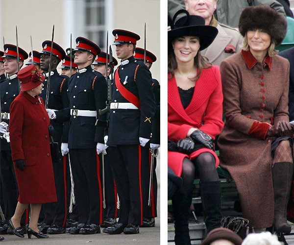 In 2006, it was clear Kate was set to be a firm fixture in the royal family after she and her family attended Will's graduation from the Royal Military Academy— marking her first invitation to a royal event, with Queen Elizabeth present!