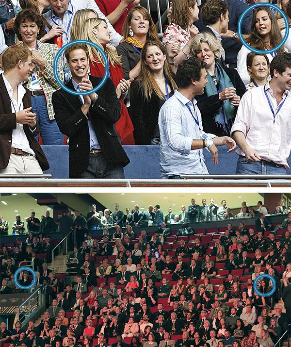 It's a great sign seeing Meghan at official events, just like Kate would attend royal events important to her then boyfriend - pictured at the Diana concert back in 2007.