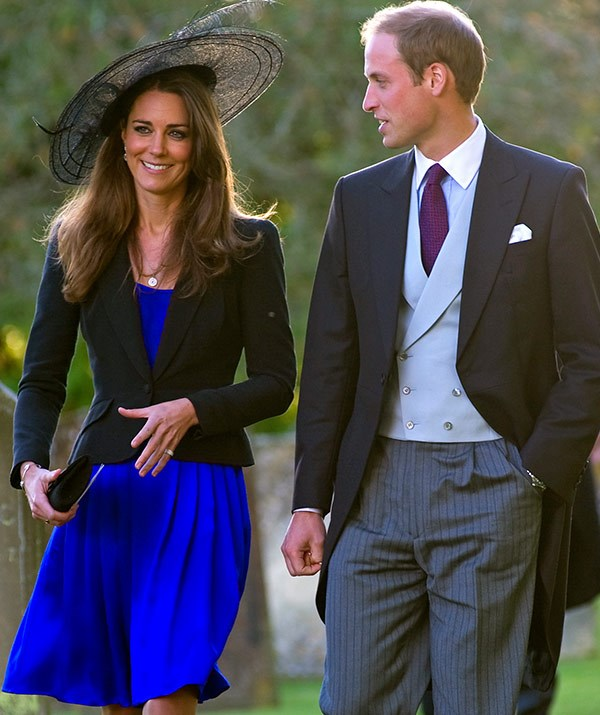 Prince William and Kate Middleton attended their friends Harry Meade And Rosie Bradford's wedding on 23rd October 2010... AFTER they became engaged!