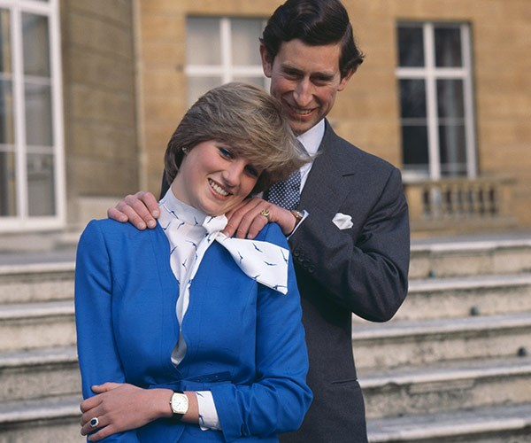 """Prince Charles said at the time of their engagement, """"Delighted and frankly amazed that Diana is prepared to take me on!"""""""