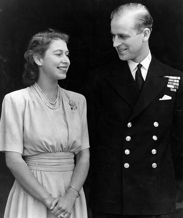 The official announcement of the engagement came from Buckingham Palace on July 10 1947.