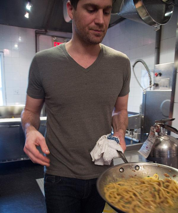 A celebrity chef who can cook a mean carbonara? Almost as good as a Prince!