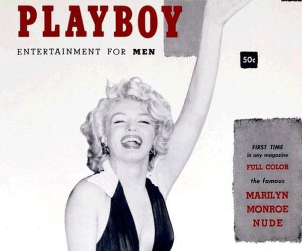 The iconic first issue of Playboy.