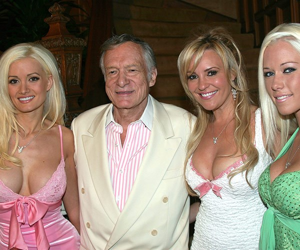 Hugh found a whole new generation of fans thanks to his insanely successful show **The Girls of The Playboy Mansion**, which chronicled his life with live-in girlfriends Holly Madison, Bridget Marquardt and Kendra Wilkinson.