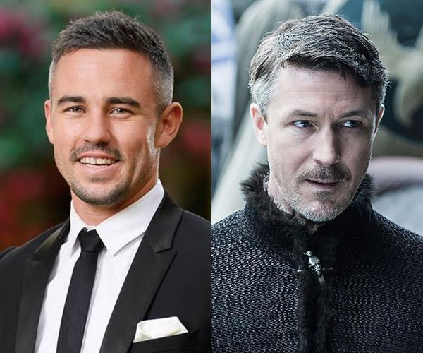 **Ryan and... Littlefinger** Look we're not comparing their characteristics... Much. We can see Ryan skulking around the mansion, listening to other people's conversations for sure.