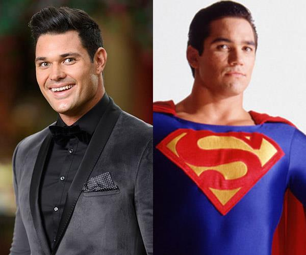 **Apollo and... Dean Cain as Superman** Is there anything the bold Apollo can't do? Of COURSE he's Superman.
