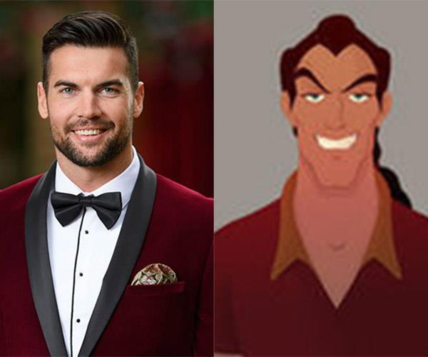 **Blake and... Gaston** No one fights like Gaston, douses lights like Gaston. Word on the street is that Blake thinks as a specimen he's rather intimidating and he uses antlers in all of his decorating. You heard it here first.