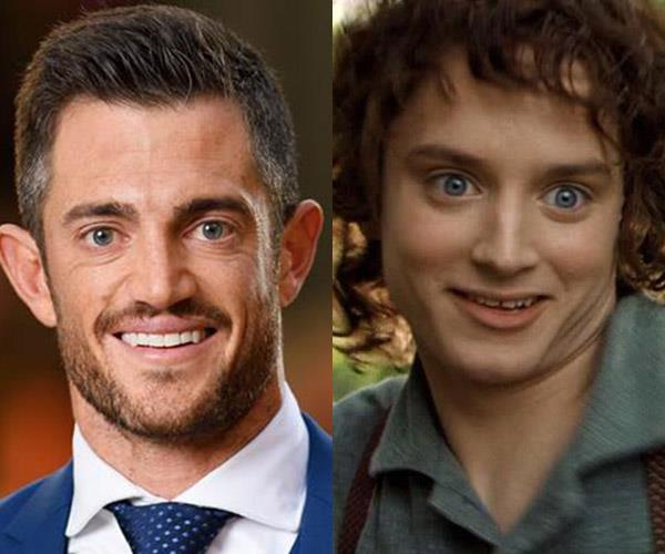 **Mack and... Frodo** Uncanny. Have you seen him with a ring lately?