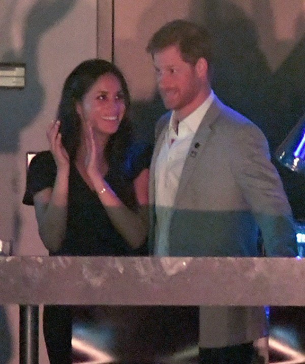 It's been a huge week for Prince Harry and his girlfriend has been there every step of the way to support him.