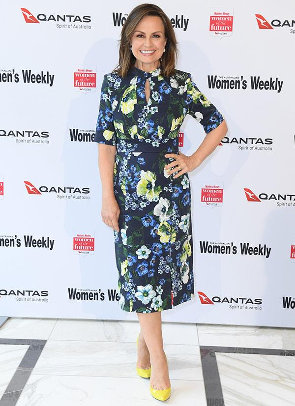 "[**Lisa Wilkinson**](http://www.nowtolove.com.au/tags/lisa-wilkinson|target= ""_blank"") is the MC for today's event."