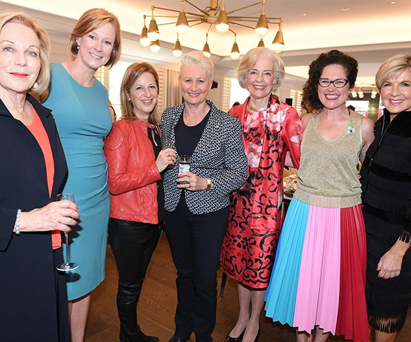 Ita Buttrose, Leigh Sales, Dr Kerryn Phelps, Jackie Stricker-Phelps, Quentin Bryce, Annabel Crabb and Julie-Bishop.