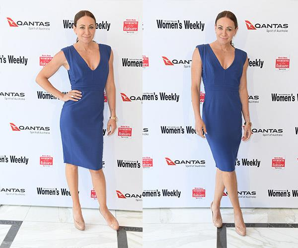 Michelle Bridges at *The Weekly*'s Women Of The Future Awards.