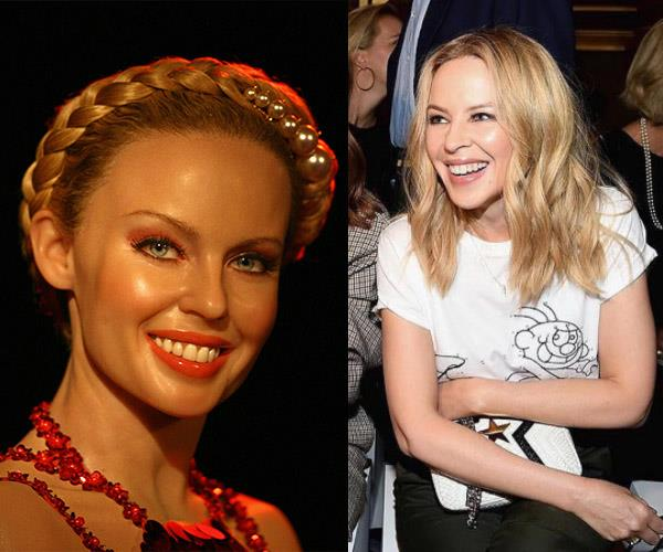 "But it isn't the first time [**Kylie Minogue**](http://www.nowtolove.com.au/tags/kylie-minogue|target=""_blank"") has suffered at the hands of a botched waxworks job. Exhibit A..."