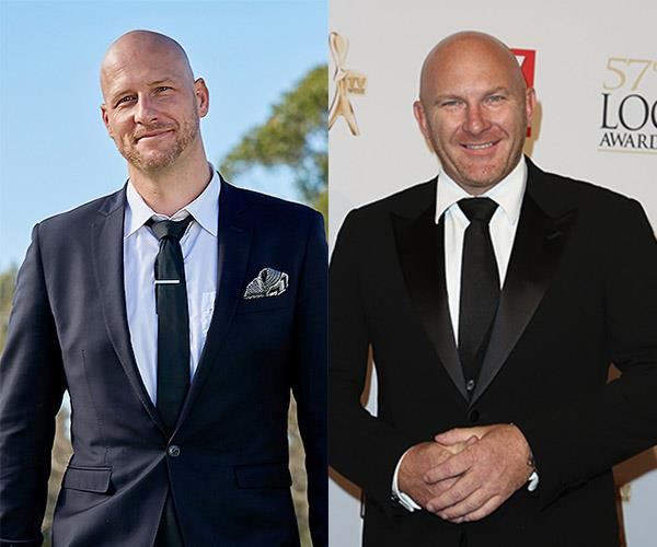 **A.J. and... celeb chef Matt Moran** Are they the same person or what?