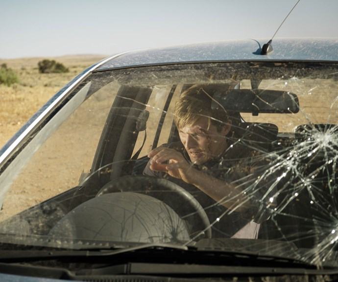 A car accident leaves John (Sean Keenan) stranded in a mysterious town.