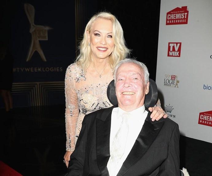 Kerri-Anne and current husband of 33 years, John.