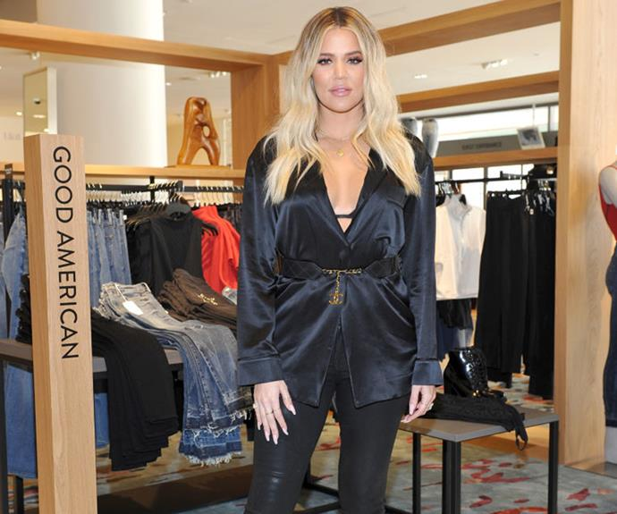 Khloe Kardashian Makes First Public Appearance Since: Khloe Kardashian's First Baby Bump Pics