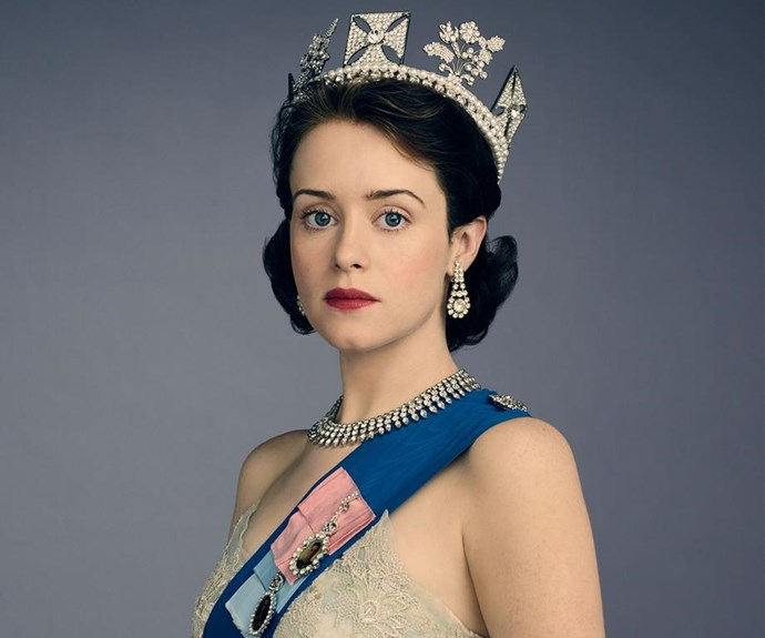 Claire Foy as a young Queen Elizabeth II.