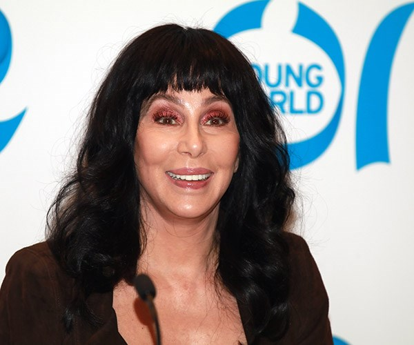 Cher at the One Young World Summit in Bogota, Colombia.