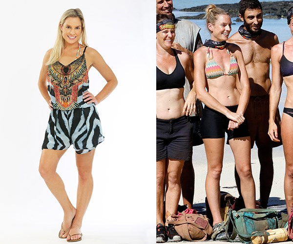 **Michelle Dougan** lost 8kg during her time on the island.