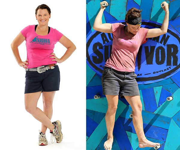 Runner-up **Tara Pitt** lost 11kg while on the show.
