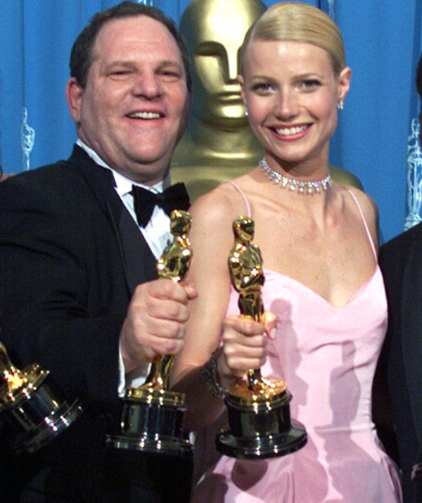 Gwyenth won her first Oscar in the Weinstein-produced *Shakespeare in Love.*
